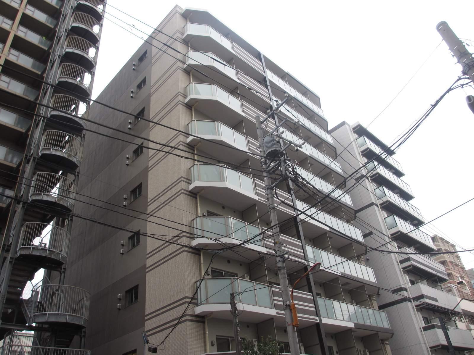 東京都墨田区、錦糸町駅徒歩11分の新築 9階建の賃貸マンション