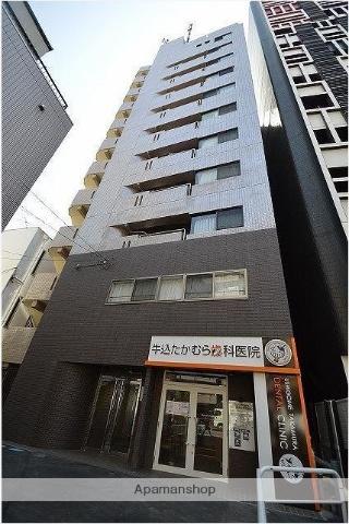 東京都新宿区、早稲田駅徒歩10分の築27年 11階建の賃貸マンション