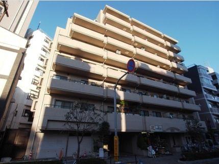 東京都新宿区、東新宿駅徒歩7分の築22年 8階建の賃貸マンション