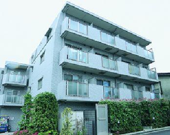 東京都新宿区、市ケ谷駅徒歩3分の築17年 4階建の賃貸マンション