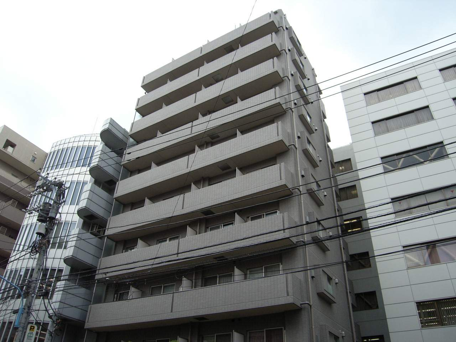 東京都新宿区、市ケ谷駅徒歩4分の築13年 10階建の賃貸マンション