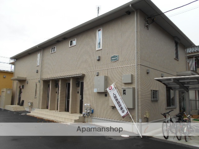 東京都福生市、福生駅徒歩14分の築3年 2階建の賃貸アパート