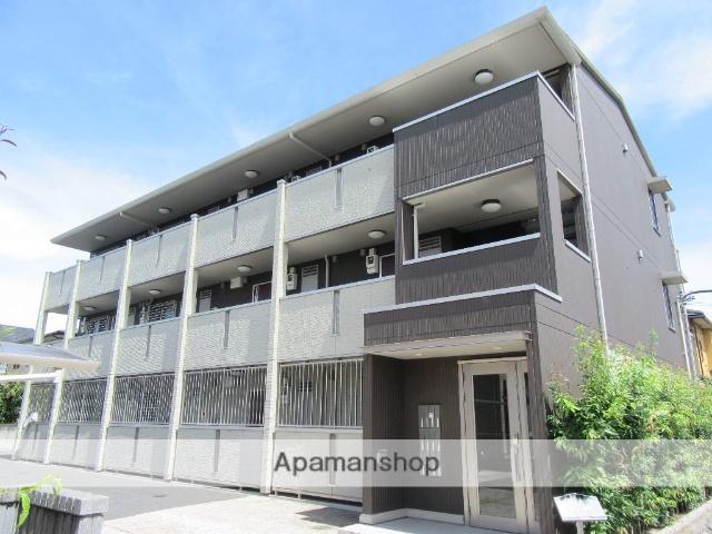 東京都日野市、日野駅徒歩9分の築7年 3階建の賃貸アパート
