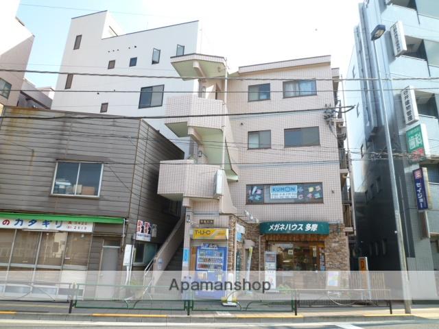 東京都日野市、日野駅徒歩2分の築20年 4階建の賃貸マンション