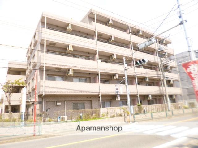 東京都立川市、昭島駅立川バスバス12分松中下車後徒歩8分の築17年 5階建の賃貸マンション