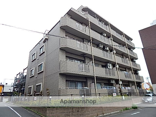 東京都昭島市、東中神駅徒歩13分の築18年 5階建の賃貸マンション