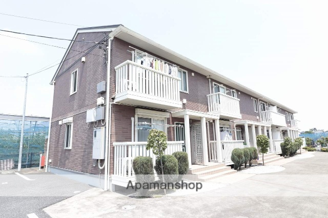 東京都東大和市、玉川上水駅徒歩27分の築10年 2階建の賃貸アパート