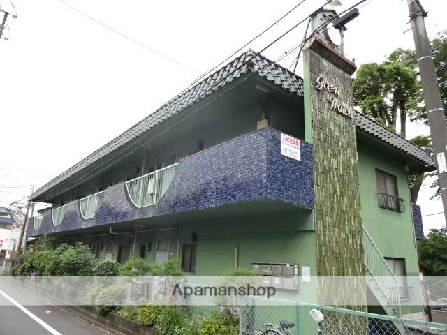 東京都立川市、立川駅徒歩12分の築32年 2階建の賃貸マンション