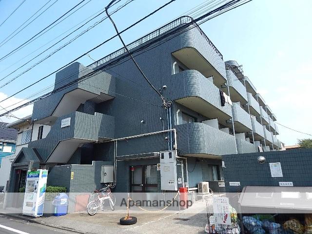 東京都国立市、西国立駅徒歩11分の築25年 4階建の賃貸マンション