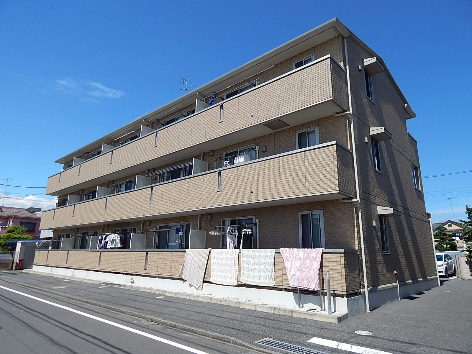 東京都昭島市、東中神駅徒歩28分の築9年 3階建の賃貸アパート