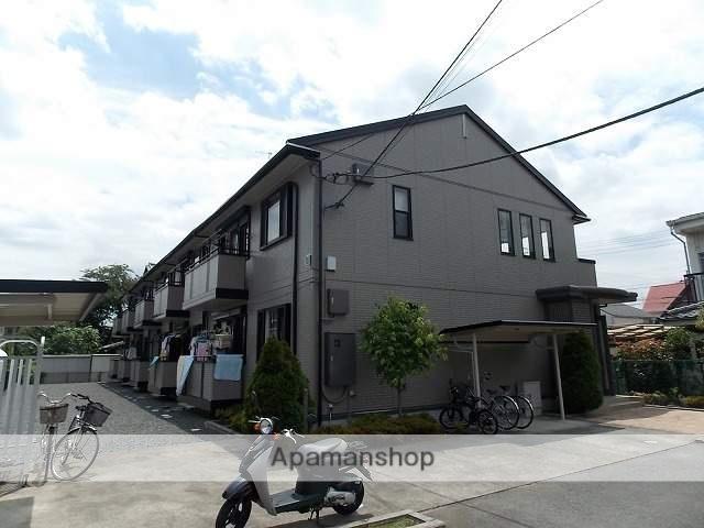 東京都武蔵村山市、玉川上水駅徒歩22分の築15年 2階建の賃貸アパート