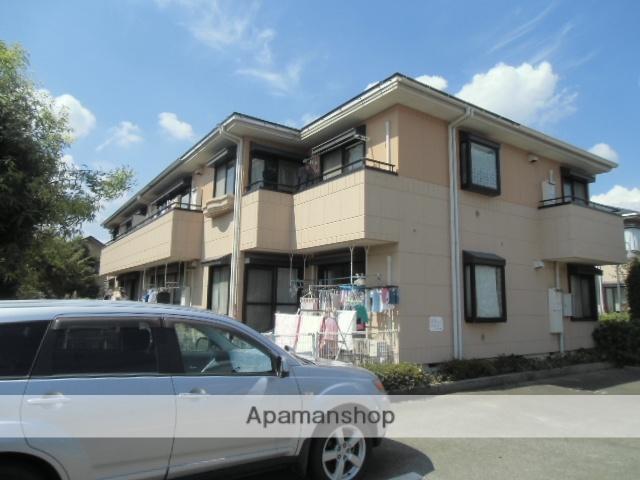 東京都立川市、西武立川駅徒歩19分の築23年 2階建の賃貸マンション