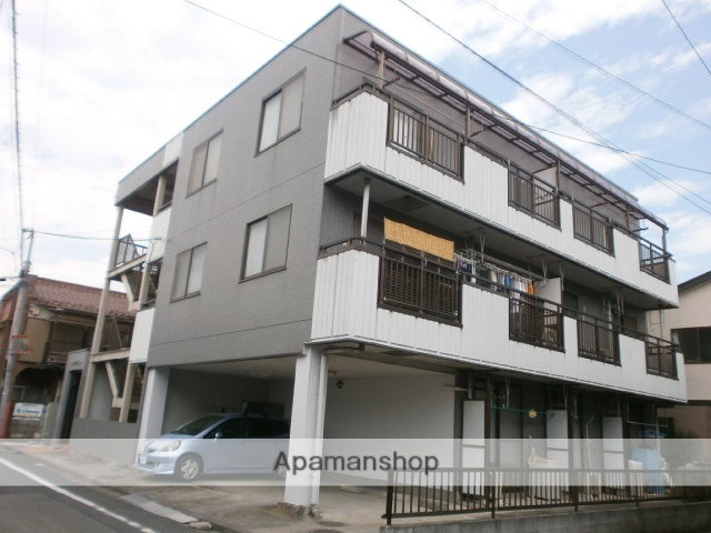 東京都立川市、立川駅徒歩15分の築25年 3階建の賃貸マンション