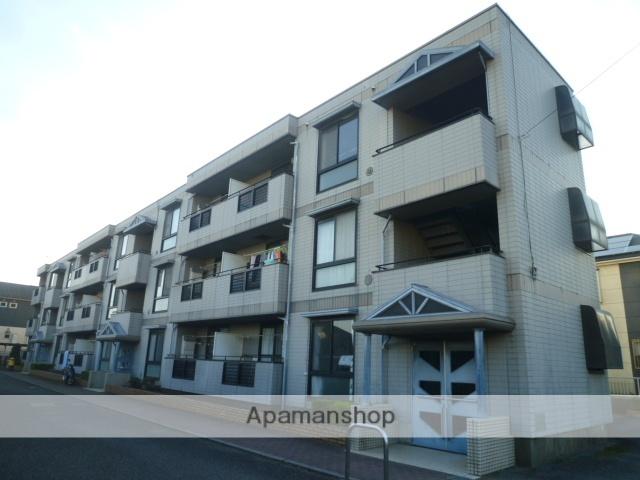 東京都立川市、玉川上水駅徒歩15分の築24年 3階建の賃貸アパート