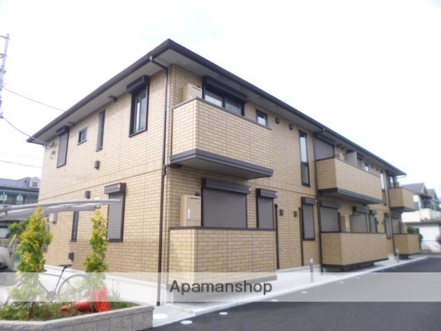 東京都昭島市、西立川駅徒歩22分の築3年 2階建の賃貸アパート