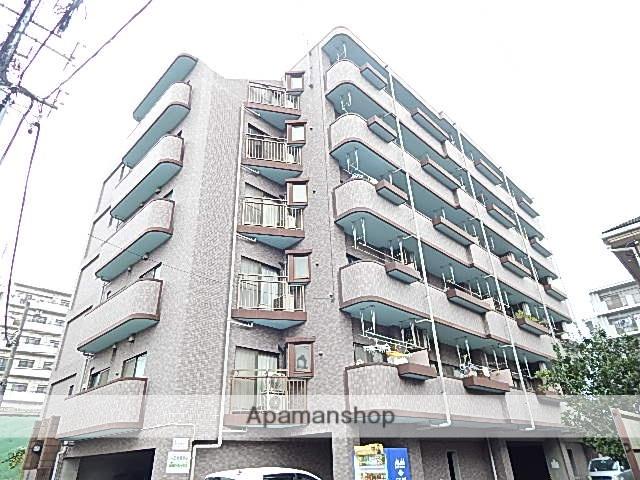 東京都立川市、武蔵砂川駅徒歩10分の築16年 6階建の賃貸マンション