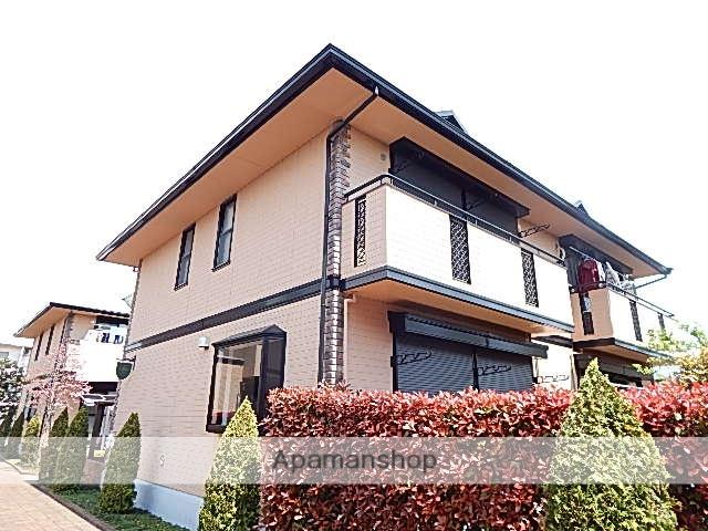 東京都立川市、玉川上水駅徒歩13分の築19年 2階建の賃貸テラスハウス