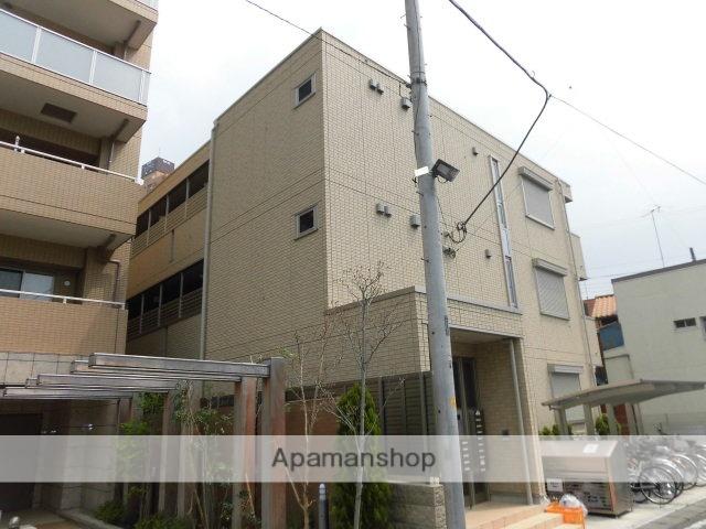 東京都福生市、牛浜駅徒歩15分の築4年 3階建の賃貸アパート