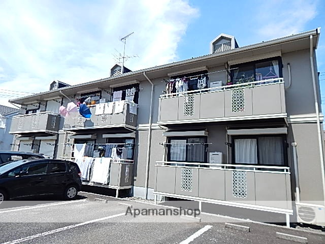東京都昭島市、中神駅徒歩27分の築25年 2階建の賃貸アパート