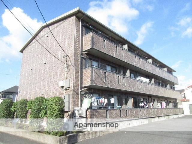 東京都武蔵村山市、西武立川駅バス16分三ツ木交差点下車後徒歩5分の築11年 3階建の賃貸アパート