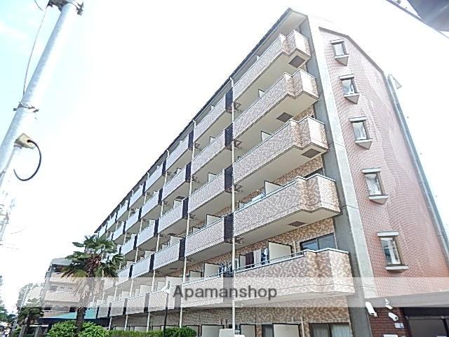 東京都立川市、玉川上水駅徒歩10分の築25年 6階建の賃貸マンション