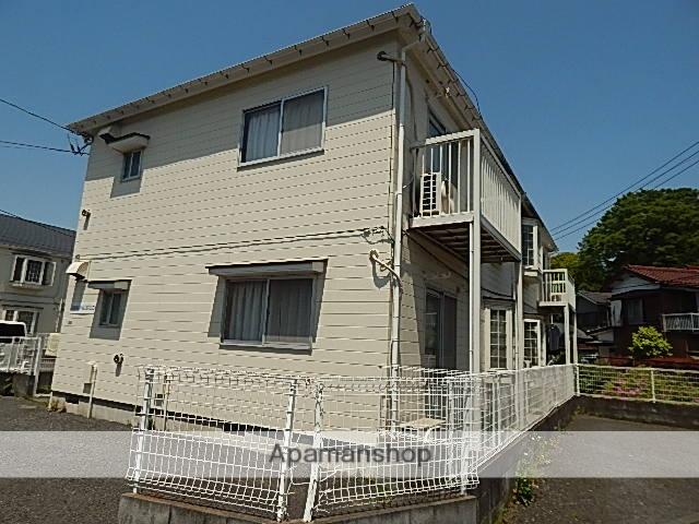 東京都立川市、立川駅徒歩16分の築27年 2階建の賃貸アパート