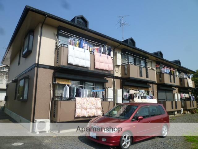 東京都立川市、玉川上水駅徒歩14分の築23年 2階建の賃貸アパート