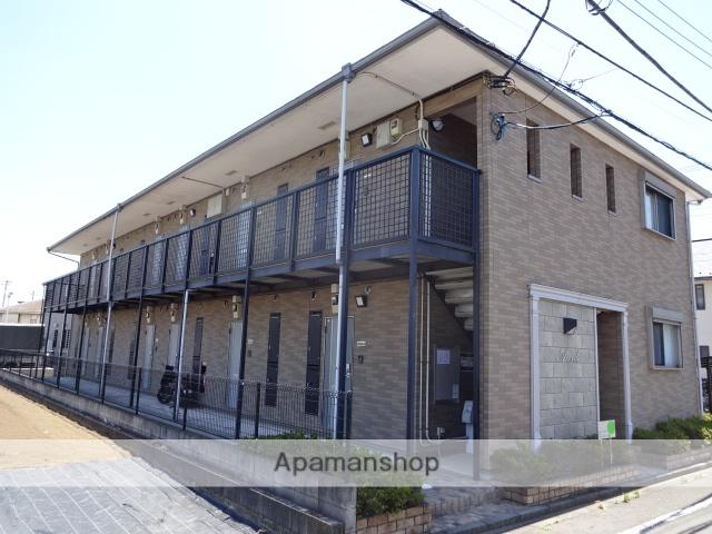 東京都日野市、日野駅徒歩12分の築11年 2階建の賃貸アパート