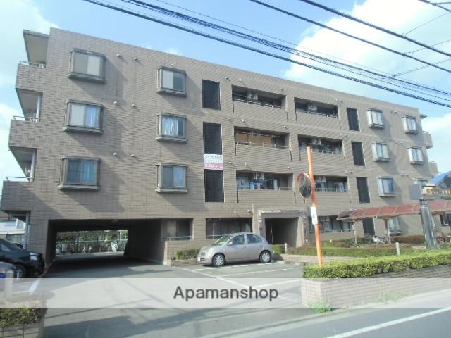 東京都国立市、西国立駅徒歩12分の築25年 4階建の賃貸マンション