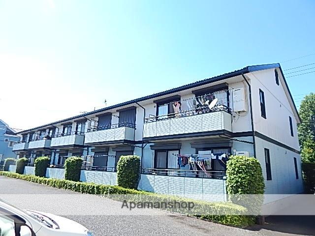 東京都立川市、高松駅徒歩16分の築25年 2階建の賃貸アパート