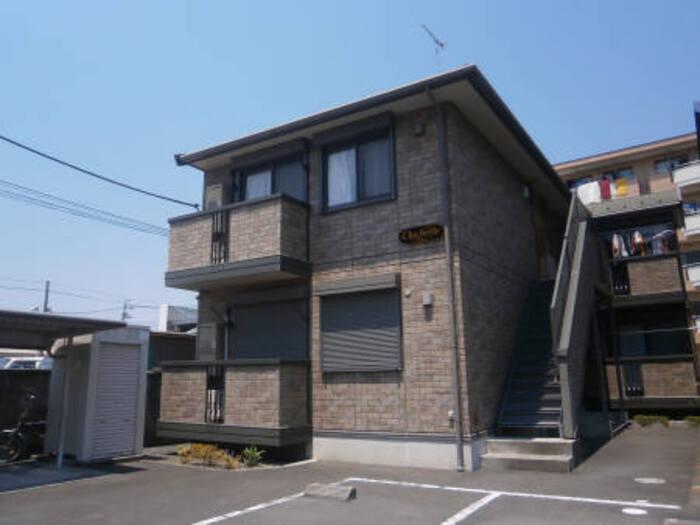 東京都立川市、立飛駅徒歩13分の築13年 2階建の賃貸アパート
