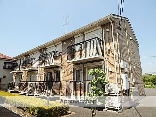 東京都立川市、玉川上水駅徒歩15分の築11年 2階建の賃貸アパート