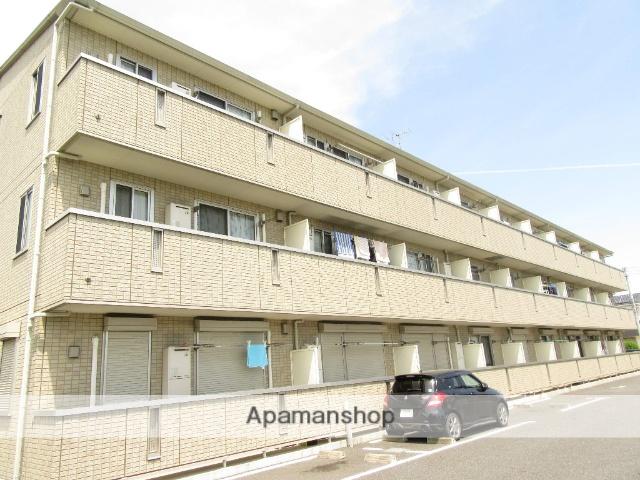 東京都昭島市、中神駅徒歩27分の築10年 3階建の賃貸アパート
