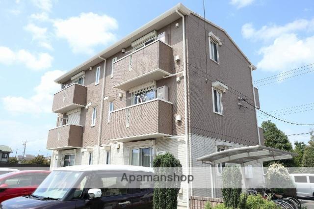 東京都立川市、玉川上水駅徒歩12分の築4年 3階建の賃貸アパート