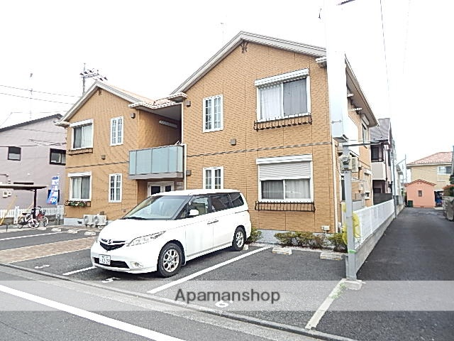 東京都立川市、玉川上水駅徒歩17分の築9年 2階建の賃貸アパート