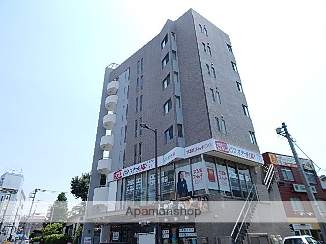 東京都日野市、日野駅徒歩4分の築14年 7階建の賃貸マンション