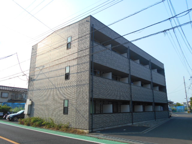 東京都日野市、日野駅徒歩15分の築13年 3階建の賃貸マンション