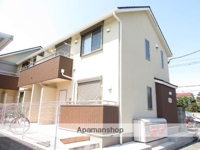 東京都立川市、西国立駅徒歩6分の築2年 2階建の賃貸アパート
