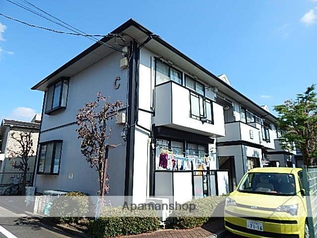 東京都日野市、日野駅徒歩11分の築25年 2階建の賃貸アパート