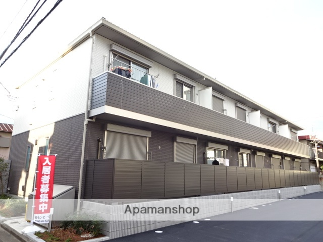 東京都立川市、立川駅徒歩14分の築1年 2階建の賃貸アパート