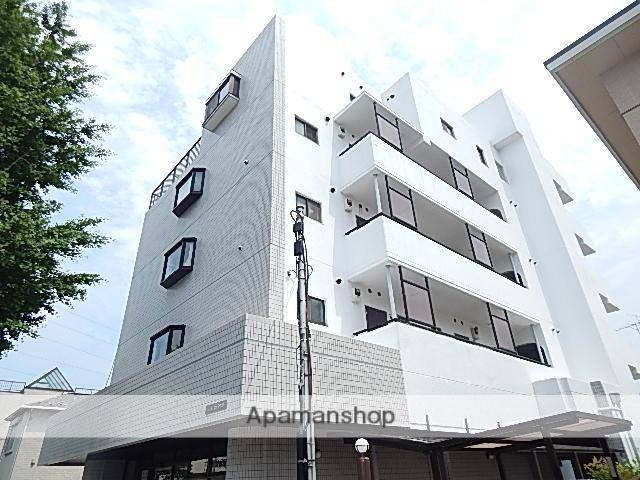東京都日野市、日野駅徒歩33分の築27年 5階建の賃貸マンション