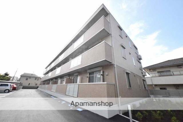 東京都府中市、府中本町駅徒歩16分の新築 3階建の賃貸アパート