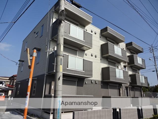 東京都昭島市、昭島駅徒歩24分の新築 3階建の賃貸アパート