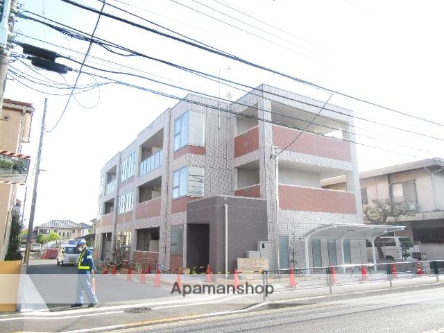 東京都立川市、玉川上水駅徒歩20分の新築 3階建の賃貸マンション