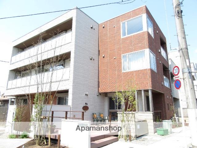 東京都立川市、立川駅徒歩13分の新築 3階建の賃貸マンション