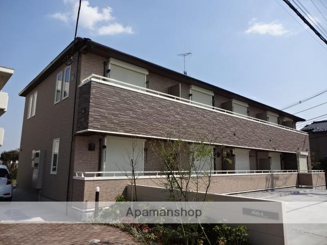 東京都武蔵村山市、上北台駅徒歩33分の新築 2階建の賃貸テラスハウス