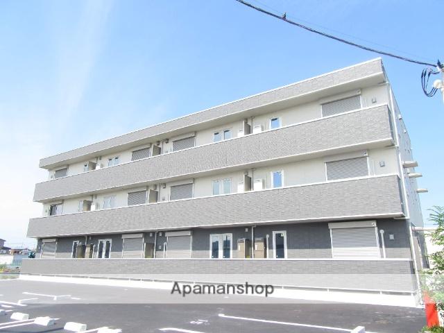 東京都武蔵村山市、上北台駅徒歩35分の新築 3階建の賃貸アパート