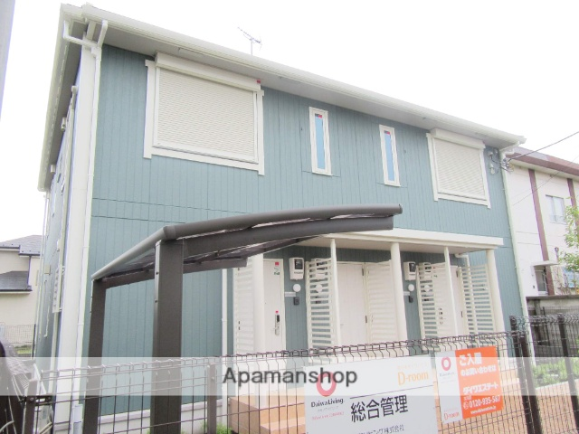 東京都昭島市、東中神駅徒歩30分の新築 2階建の賃貸アパート
