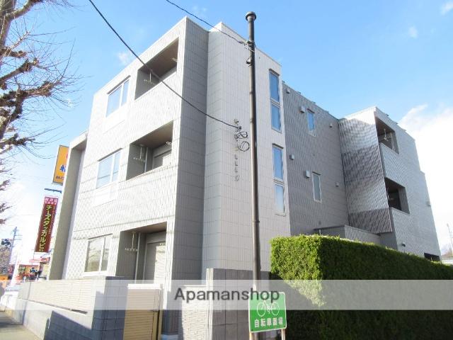 東京都立川市、立川駅徒歩16分の新築 3階建の賃貸マンション