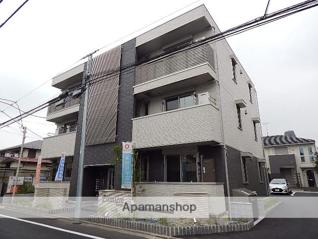東京都国立市、矢川駅徒歩20分の新築 3階建の賃貸アパート